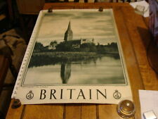 Vintage Poster:1930's  Britain: SALISBURY-The Catedral photo by A.F. Kersting