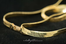 14k Gold Serpentine Chain 28 inches