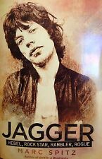 Jagger: Rebel, Rock Star, Rambler, Rogue by Marc Spitz new paperback Book Club