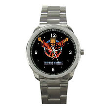 Thunderdome ID &T Hardcore Techno Gabber Music Sport Metal Watch For Gift