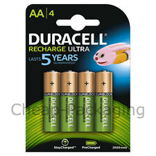 Duracell Recharge Ultra AA Batteries NiMH 2500mAh/1.2V 4 Pack