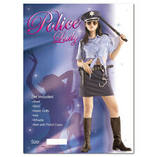 Police woman costume donna poliziotto sexy Vestito Uniforme da donna MEDIUM