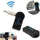 3.5mm A2DP Bluetooth Wireless Receiver Audio Music Adapter Car Home AUX Speaker