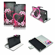 Magnetic Flip Leather Pocket Cover Case Stand For Huawei Ascend P8 Lite P8 Mini