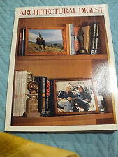 ARCHITECTURAL DIGEST-DEC 2000-ROBERT REDFORD NY PENTHOUSE/HOTELS ROUND THE WORLD