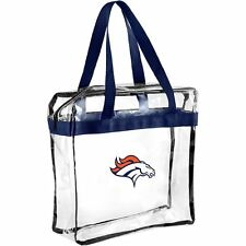 Denver Broncos CLEAR Messenger Tote Bag Purse - Meets Stadium Security Reqs