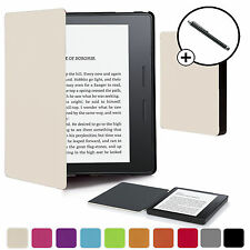 Forefront Carcasas Cáscara Blanca Funda Smart para Amazon Kindle Oasis