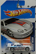 DRAG RACE NEON WHITE 2011 BOYS MOPAR DODGE HW HOT WHEELS