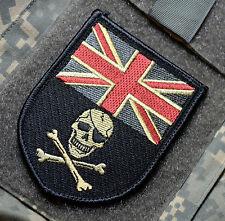 KANDAHAR WHACKER© NATO ISAF SP OPS SAS VELCRO SSI: UK Calico Jack Jolly Roger