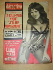 Détective 1973 L'ESTAQUE CASTELNAU LE LEZ  SAN ANTONIO