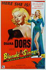 """Blonde Sinner"" Diana Dors Classic Movie Poster A1A2A3A4 Sizes"