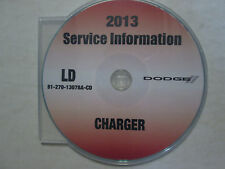 2013 DODGE CHARGER Service Shop Repair Manual CD DVD DEALERSHIP BRAND NEW 2013