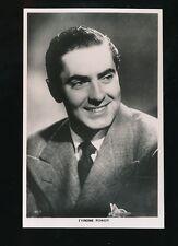 Film Theatre TYRONE POWER c1930/40s RP PPC