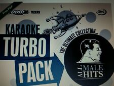 KARAOKE CDG    MALE TURBO PACK  112  GOLDEN HITS from 60s - 70s   (SET  1 to 5)