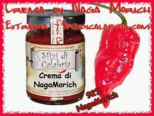 Crema di Peperoncino  Naga Morich 92% Estremo Piccante Unica su Ebay gr 90 Prova