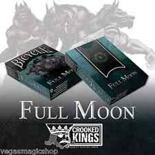 Werewolf Full Moon Deck Bicycle Playing Cards Poker Size USPCC Standard Edition
