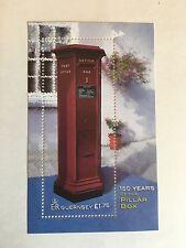 GUERNSEY MNH 2002 SG 954 FIRST PILLAR BOX MINISHEET