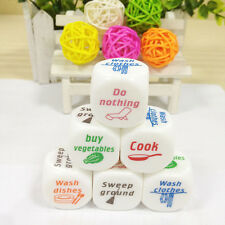 1x Dice Game Toy For Adult Love Couple Housework Duties Sex Fun Novelty Gift
