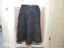 Laura Ashley Black Skirt - size 12 - NEW with tag