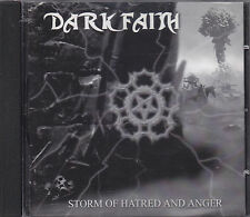 DARK FAITH - storm of hatred and anger CD