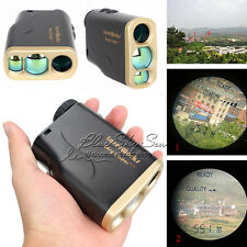 1000M Waterproof Laser Range Finder Hunting Golf Distance Meter Speed Measurer