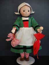 Muñeca BECASSINE de porcelana - 34cm- Niñera de LOULOTTE - G.Bravot (BEC21)