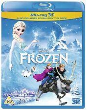 Frozen (3D Blu-ray + 2D Blu-ray:) [Region Free] Genuine UK Disney Release