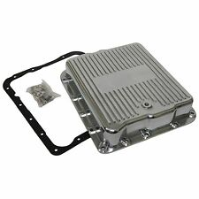 Chevy Chevrolet Polished Aluminum transmission Trans Pan 700r4 overdrive 4l60E