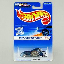 Hot Wheels Code 3 Custom SCORCHIN' SCOOTER Resealed 1997 First Editions Card