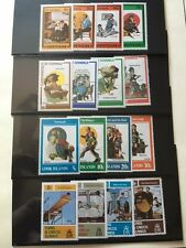 NORMAN ROCKWELL COVER ART STAMPS SET SATURDAY EVENING POST SET OF 56 AND PAGES