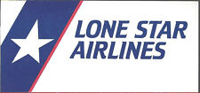 Lone Star Airlines ticket jacket wallet [6124] Buy 4+ save 50%