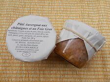 LOT de 2 Patés Auvergnat aux chataignes et foie gras  poids net ( 2x 180 g )