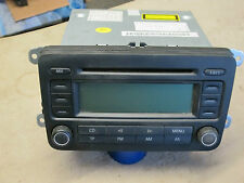 VW Golf + Others Blaupun RCD 300 Stereo Radio with Code 1K0 035 186G  1K0035186G