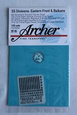 Archer 1/35 Uniform Patches SS Divisions on Eastern Front and Balkans FG35060