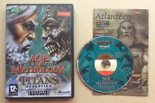 Jeu PC AGE OF MYTHOLOGY THE TITANS EXPANSION Extension