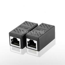 1 Pcs RJ45 Cat5e Coupler Connector For Extension Broadband Network Cable AU