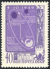 Russia 1959 Space/Lunik 3/Moon/Rockets/Transport/Science/Exploration 1v (n33440)
