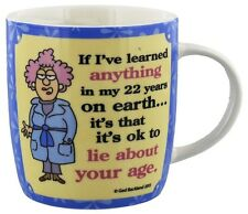 Funny Age Mug From The Aunty Acid Collection Gift Box