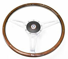 Mustang Steering Wheel Kit Lecarra Style Wood with GT500 Emblem  1965 - 1966