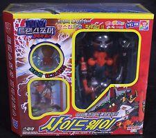 Transformers Galaxy Noisemaze Sidways GX-01 Mocom Takara Tomy Korean Packaging