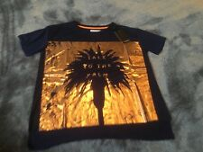 Independent Leaders BNWT navy/rose gold womens T-Shirt size small