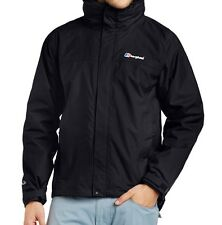 Berghaus Men's RG Alpha 3 In 1 Jacket - Black/Black, Size MEDIUM BRAND NEW