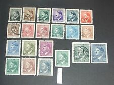 Germany (Adolf Hitler) stamps two mint & used (i do combine p&p) 32