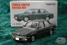 [TOMICA LIMITED VINTAGE NEO LV-N93c 1/64] BMW 325i 4door (Gray)