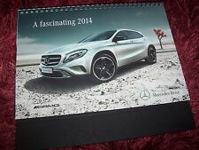 Catalogue Calendrier/ Calendar Brochure MERCEDES BENZ Gamme / Full line 2014 //