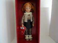 "GOTZ-PUPPENFABRIK SYLVIA NATTERER DOLL 19.5"" RARE HANDTAG - MADE IN GERMANY /NIB"