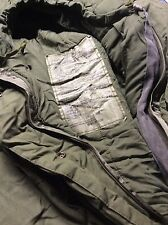 (1) Used Army Surplus US Military Surplus Genuine Very Cold Weather Sleeping Bag
