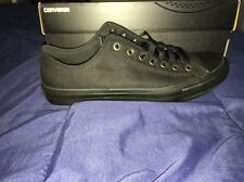 Converse All Star Chuck Taylor II Mens 9.5 Black