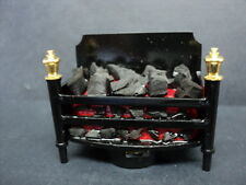 DOLLHOUSE FIREPLACE INSERT/ BATTERY OPERATED