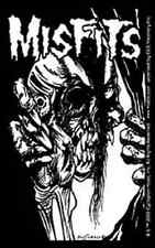 THE MISFITS Eyeball Skull Logo Sticker NEW OFFICIAL MERCHANDISE RARE Danzig
